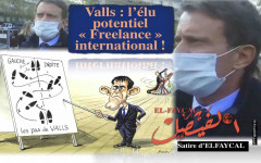 Satire: Valls l'élu potentiel « Freelance » international !